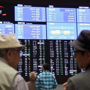 European Shares Higher, Asia Slips