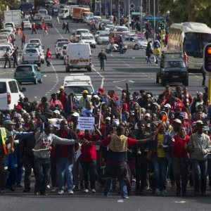 Frustration Targeted at Migrant Workers in S. Africa
