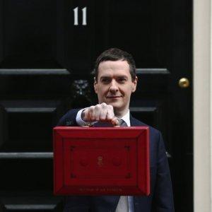 UK Borrowing Less