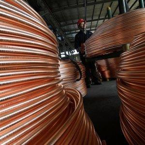 China Copper, Aluminum Output Rises