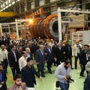 Wind Turbine Production Line Opens