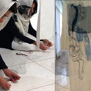 Installation Art by Iran-Italy Duo at New Gallery