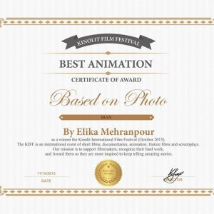 Russian Award for Iranian Animation