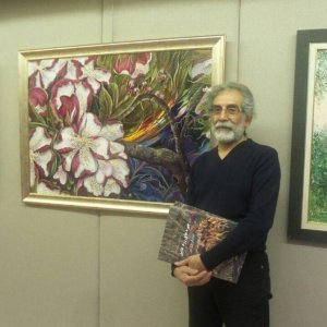 Iranian Students' Artworks in Ankara Exhibit