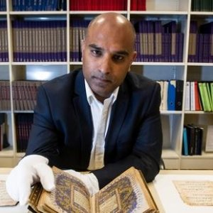 Rare Golden Qur'an on Show in New Zealand