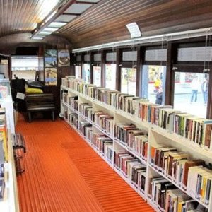 Libraries on 6 Trains