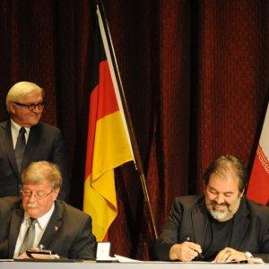 German FM Promotes Cultural Diplomacy in Tehran