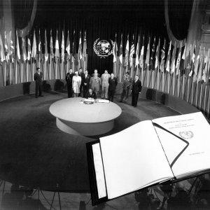 Photo Exhibit on Coop. With UN