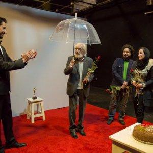 Mashayekhi's 81st Birthday at 'Hedgehog' Opening