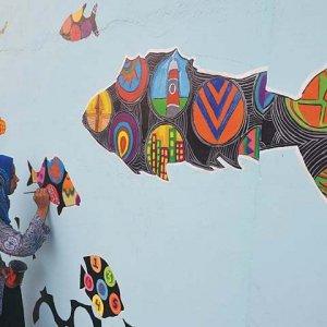 Karachi Artists Reclaim City Walls With Cheerful Designs