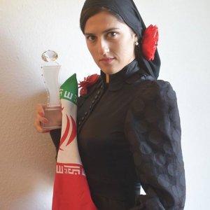 Iranian Stunt Woman Wins US Crystal Award