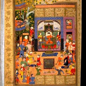 16th Century Persian Manuscript 'Peck Shahnama' Exhibited in US