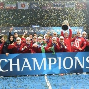 Rouhani Congratulates Women's Futsal Team