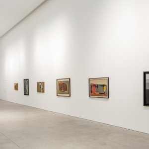 collection of Sepehri's Paintings in Dubai Gallery