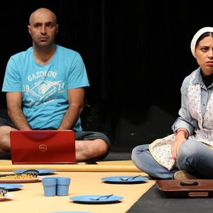 'Lunchtime' on Stage at Iranshahr Theatre