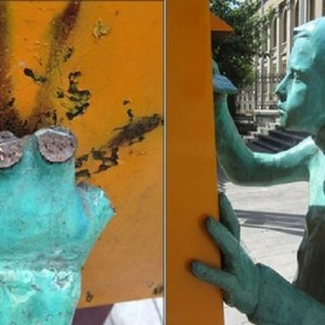 Protecting Art Works in Public Spaces From Theft