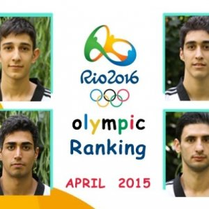 Ashourzadeh, Khodabakhshi Top World Taekwondo List