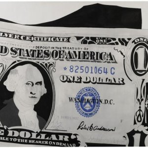 Warhol's $1 Bill Fetches $32m at Sotheby's