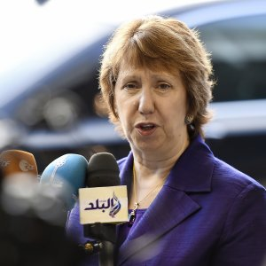 Catherine Ashton says Trump's deal-breaking stance has called into question the credibility of international treaties and risks backfiring.