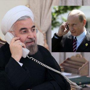 Rouhani, Putin Discuss Regional Issues on Phone