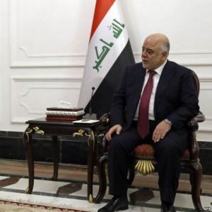 Abadi Defends Role of Iran-Backed Militias