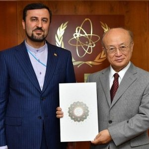 New Envoy Confers With IAEA Chief