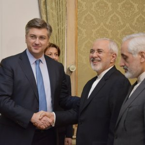 Zarif, Croatian Officials Discuss Ties