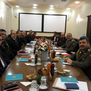 Military Delegation Visits Turkey