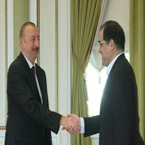 Health Minister Meets With Azeri Leader