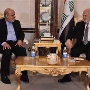 Iraqi FM Lauds Tehran's Support