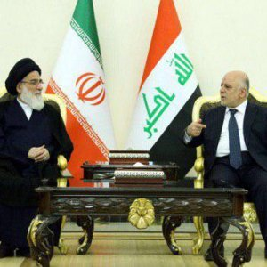 Expediency Council Chief Meets Iraqi Premier