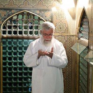 Leader Visits Imam Reza (PBUH) Shrine