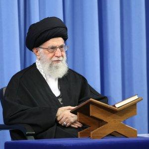 Leader Addresses Qur'an Reciters