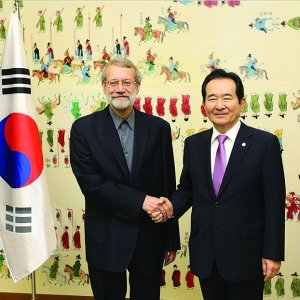 South Korea PM, Larijani Discuss Avenues to Broaden  Economic Coop.