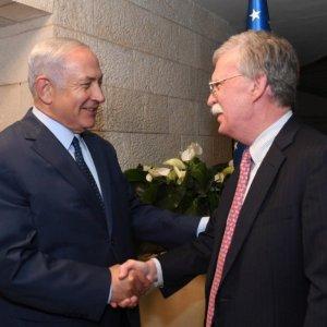 Bolton, Netanyahu Discuss Iran