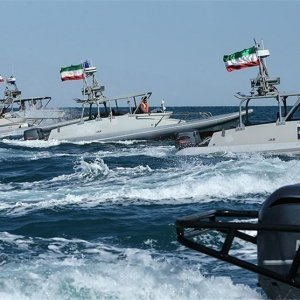 Naval Parade in Persian Gulf