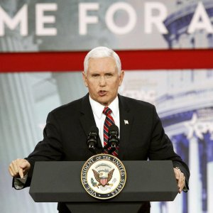 Pence Reiterates Trump's Hostile Rhetoric