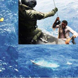 Pakistan Navy Rescues 11 Fishermen