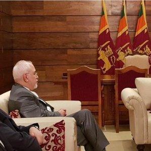 Zarif Confers With Lanka Leaders