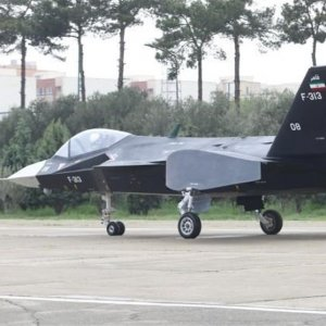 Advanced Stealth Fighter Undergoing Pre-Flight Tests