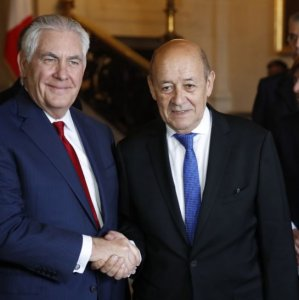 Tillerson Presses Europe on Iran, as France Bristles