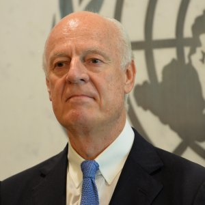 De Mistura Commends  Iran Role in Astana Talks