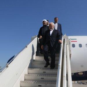 Zarif on Tour of Caucasus, Central Asia