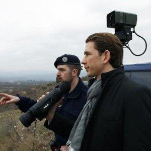 Austria's Kurz Suggests Military Option to Stem Migration Crisis