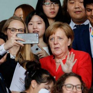 Angela Merkel Races Ahead in Polls
