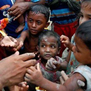 Quarter of Rohingya Refugee Children Acutely Malnourished