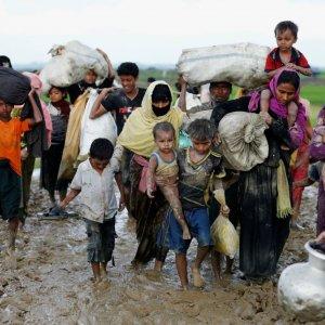Myanmar's military crackdown against the Muslim minority has sent more than 620,000 Rohingya  into neighboring Bangladesh.