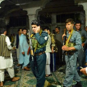 A suicide attack at a packed Shia mosque in the western Afghan province of Herat killed dozens of people on August 1.