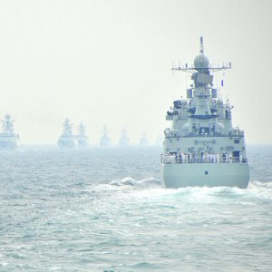 China Seals  Off Area for  Naval Drill