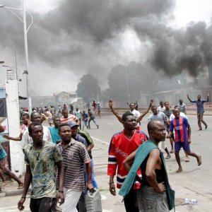 UN Congo mission spokeswoman Florence Marchal said at least 82 people have been arrested across the country in connection with Sunday's protests.